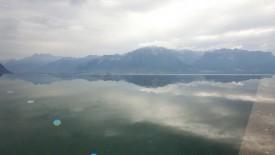 Hot springs overlooking Lake Geneva